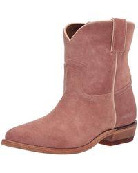 Frye Billy Short Western Boot - Brown
