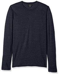 Velvet By Graham & Spencer - Velvet Westy Stripe Long Sleeve Sweater - Lyst