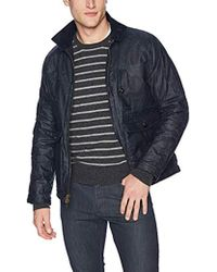 Billy Reid - Waxed Cotton Water Resistant Fully Lined Dempsey Jacket, - Lyst