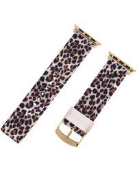 Betsey Johnson Leopard Smart Watch Strap - Multicolor