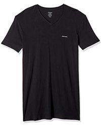 DIESEL - Jake 3-pack Essentials V-neck T-shirt - Lyst