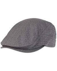 62de034eede Lyst - Levi s Ivy Newsboy Hat in Gray for Men - Save 47%