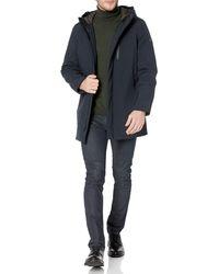 Tahari Long Sleeve Hooded Commuter Jacket - Black