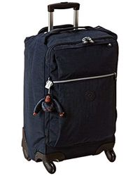 Kipling - Darcey Solid Small Wheeled Luggage, Blue, One Size - Lyst