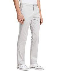 Calvin Klein - Refined Twill Pants - Lyst