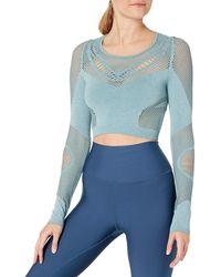 Alo Yoga Siren Long Sleeve - Blue