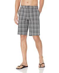 O'neill Sportswear 21 Inch Outseam Hybrid Stretch Walk Short - Gray