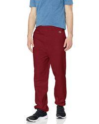 Champion Cotton Max Fleece Sweatpant - Red