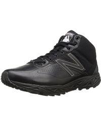 New Balance 950 V2 Umpire Mid Cut Baseball Shoe - Black