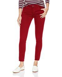 DL1961 Margaux Instascuplt Skinny Fit Ankle Jean - Red