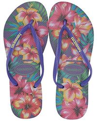 Havaianas - Slim Hibisco Sandal - Lyst
