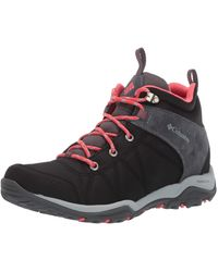 Columbia Fire Venture Mid Textile Hiking Boot Black