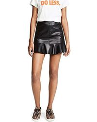 BB Dakota - Veni Vidi Vici Vegan Leather Skirt - Lyst