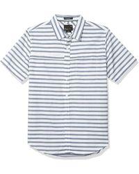 Tavik Shin Short Sleeve Woven Shirt - White