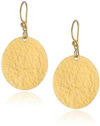 Gurhan - Lush 24k Gold Dangling Flake Earrings - Lyst