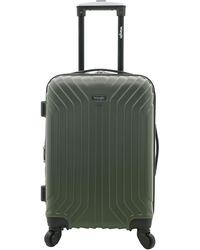 "Wrangler 20"" Carry-on Auburn Hills Luggage - Green"