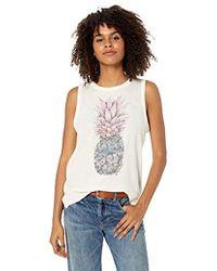 O'neill Sportswear - Marketplace Screen Print Tank Top - Lyst