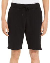 Calvin Klein Calvin Logo Printed Knit Short - Black