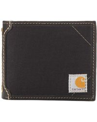 Carhartt - Canvas Wallet With Removable Passcase - Lyst