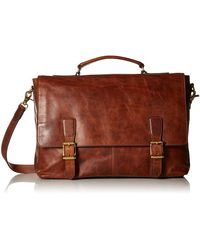 Frye Logan Top Handle Handbags - Brown