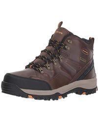 e3c87ca2238 Ralph Lauren Acworth Hiker Black Leather for Men - Lyst