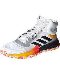 adidas Marquee Boost Low Basketball Shoe - Multicolor