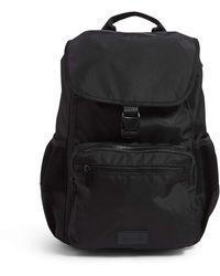 Vera Bradley Recycled Lighten Up Reactive Daytripper Backpack - Black