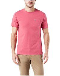 Dockers Short Sleeve Crewneck Tee Shirt - Pink