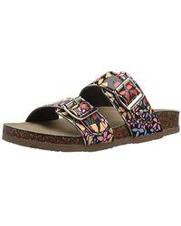 Madden Girl Brando-j Slide Sandal - Multicolor