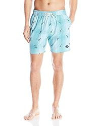 Sperry Top-Sider - Touca-lele Volley Swim Trunk - Lyst
