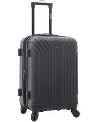 "Wrangler 20"" Carry-on Auburn Hills Luggage - Black"