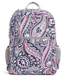 Vera Bradley Recycled Lighten Up Reactive Grand Backpack - Blue
