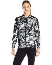 b9577a8f30f3 Lyst - Fila Hooded Festival Windbreaker Jacket With All Over Print ...