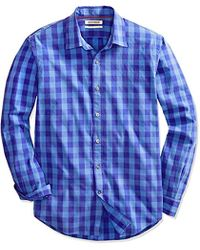Goodthreads - Standard-fit Long-sleeve Large-scale Check Shirt - Lyst