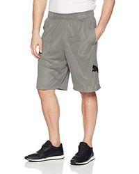 ea01d9bca90e Lyst - PUMA Big Cat Woven Shorts in Black for Men