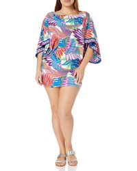 Trina Turk Tunic Swim Cover-up - Blue