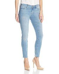 Mavi Jeans Serena Ankle Low Rise Super Skinny - Blue