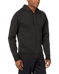 Peak Velocity Medium-weight Fleece Full-zip Loose-fit - Black