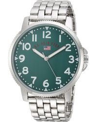 U.S. POLO ASSN. - Analog-quartz Watch With Alloy Strap, Silver, 26 (model: Us8616) - Lyst