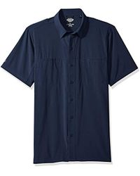 Dickies - Cooling Woven Shirt With 4-way Flex - Lyst