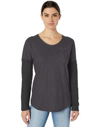 Columbia Times Two Novelty Knit Long Sleeve - Black