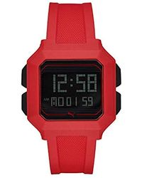 PUMA Remix Red Digital Watch