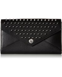Rebecca Minkoff Wallet On A Chain With Studs - Black