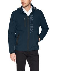 Nautica - Hooded Jacket With Logo - Lyst
