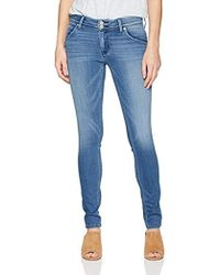 d6f501f1794 Lyst - Hudson Jeans Collin Mid-rise Skinny Flap Pocket Jeans In ...