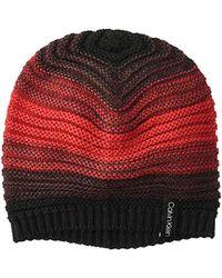 7df8c8ff6d2 Calvin Klein - Marled Colorblock Slouchy Beanie - Lyst
