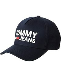 59b0876bc78 Lyst - Tommy Hilfiger Retro Tommy Baseball Cap In Blue white in Blue ...