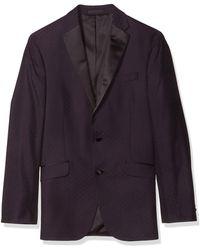 Kenneth Cole Reaction Slim Fit Evening Jacket - Multicolor