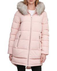 DKNY Walker Puffer - Pink