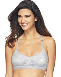 32639fa681 Hanes - Comfortflex Fit T-shirt Soft Wirefree Pullover Bra - Lyst